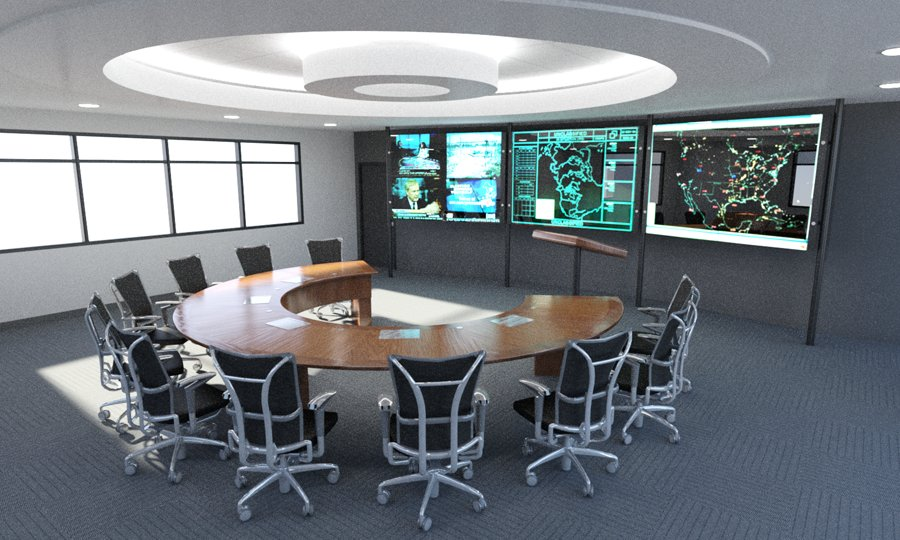 Command Center Furniture Solutions For Mission Critical