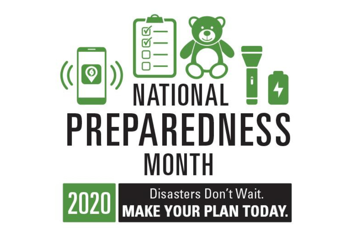 logo for national preparedness month